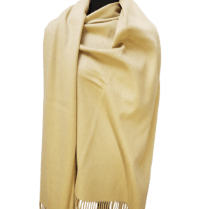ThannaPhum Luxe Cashmere sjaal beige 70 x 180 cm