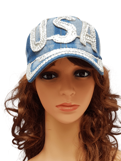 ThannaPhum glitter glamour cap USA light TP dj crown LUSA