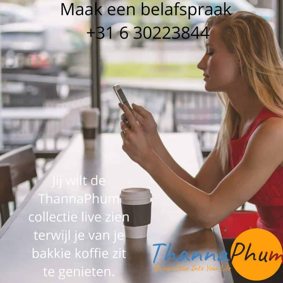 ThannaPhum contact - belafspraak - exclusieve sjaals