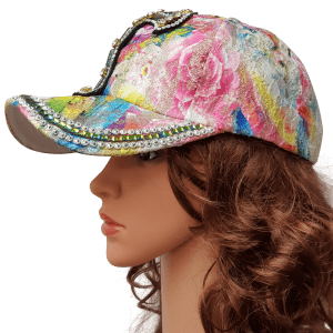 ThannaPhum glitter glamour cap colorful cross