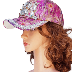 ThannaPhum glitter glamour cap girl paars violet