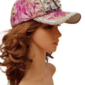 ThannaPhum glitter glamour cap hot paars